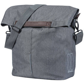 Basil City Shopper 14-16l, grey melee